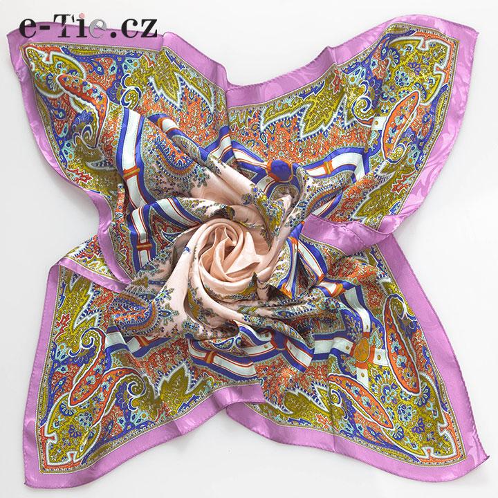 Šátek Oriental Pink