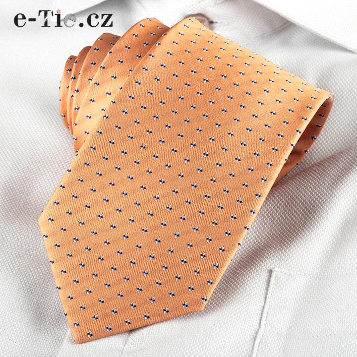 Kravata Giambattista Orange