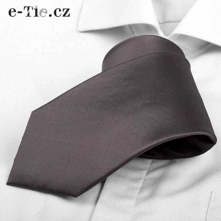 Kravata Lee Dark Grey