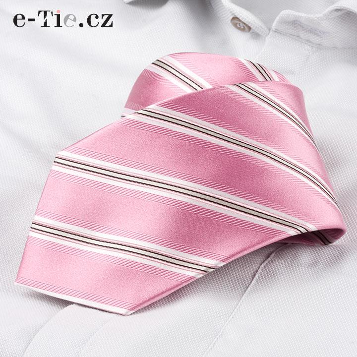 Kravata Edward Pink
