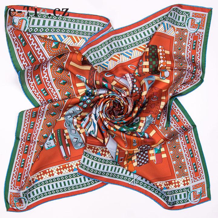 Šátek Bracelets Red