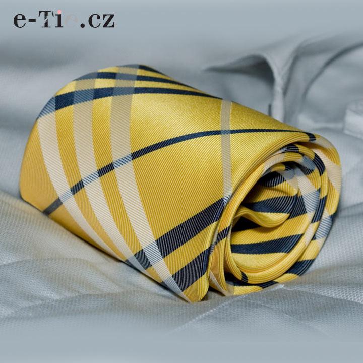 Kravata Biagio Yellow