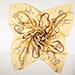 Šátek Octopus Yellow