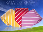 Katalog hedvábných kravat a kravat z mikrovlákna - jaro 2011 ke stažení