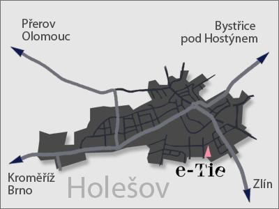 Mapa | varanasi Co., s.r.o. | e-tie.cz